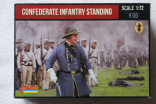 Strelets 1/72 ST0156 Confederate Infantry Standing (ACW)